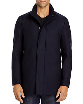 Theory - Traceable Wool Blend Melton Coat