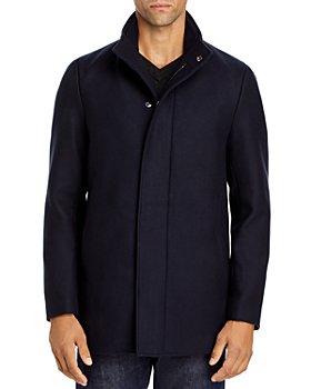 Theory - Traceable Wool Blend Melton Coat