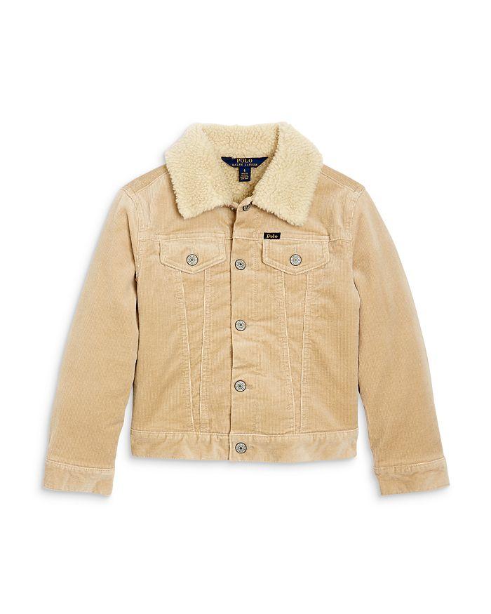Ralph Lauren - Girls' Corduroy Trucker Jacket - Little Kid, Big Kid