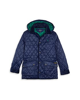 Ralph Lauren - Boys' Kempton Quilted Zip Hood Car Coat - Little Kid, Big Kid