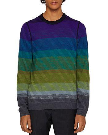 Paul Smith - Gents Striped Crewneck Sweater