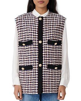 Maje - Vilica Houndstooth Vest