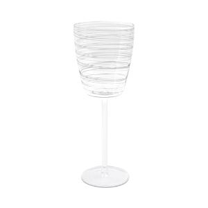 Vietri Swirl White Wine Glass-Home