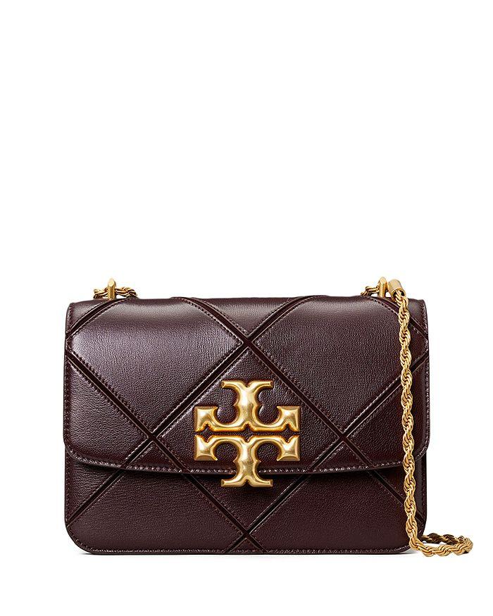 Tory Burch - Eleanor Diamond Quilt Leather Convertible Shoulder Bag