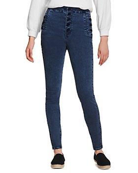 J Brand - Natasha Sky High Rise Skinny Jeans in Chromatic