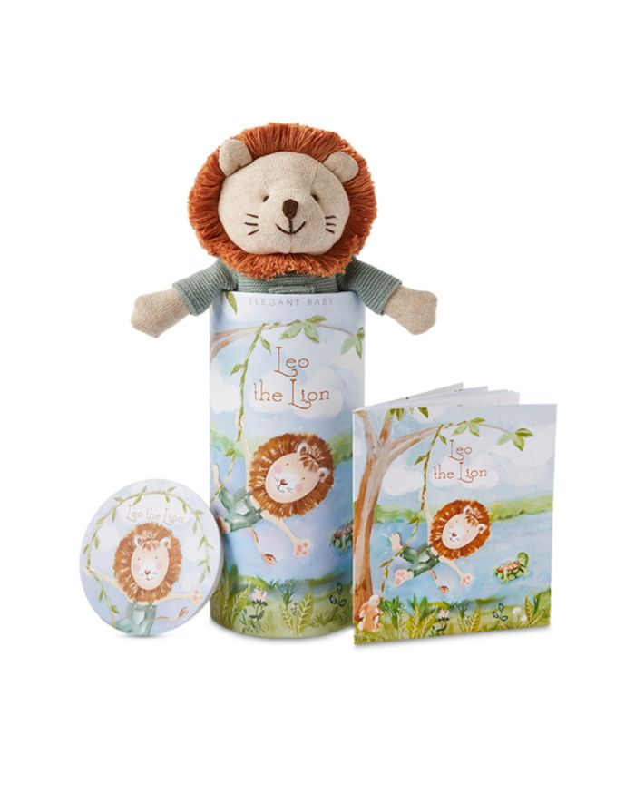 Elegant Baby Knit Toy & Bedtime Story Coloring Booklet - Baby  | Bloomingdale's