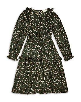 Hayden Los Angeles - Girls' Ruffled Floral Midi Dress - Big Kid