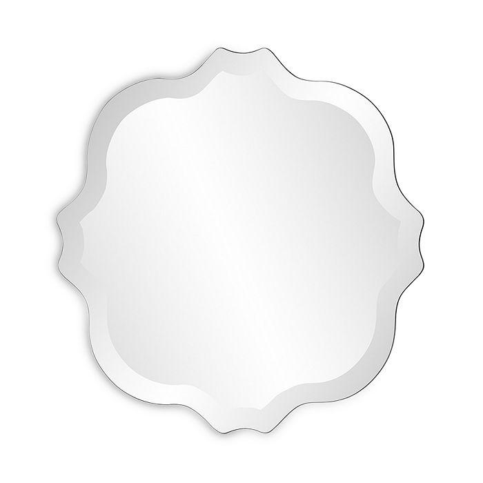 Howard Elliott - Scalloped Frameless Mirror