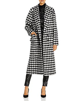 Redemption - Carry Over Oversized Plaid Coat