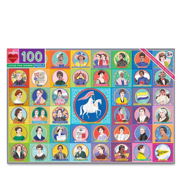 EeBoo Votes for Women 100 Piece Puzzle - 5+  | Bloomingdale's