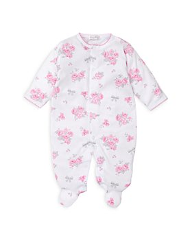 Kissy Kissy - Girls Floral Print Cotton Footie - Baby