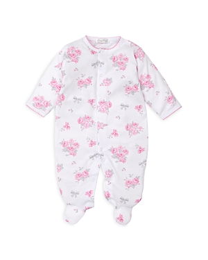 Kissy Kissy GIRLS FLORAL PRINT COTTON FOOTIE - BABY