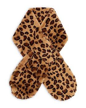 Echo - Leopard Print Faux Fur Muffler - 100% Exclusive