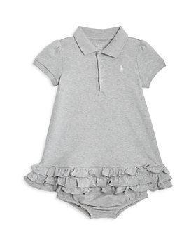 Ralph Lauren - Girls' Ruffled Polo Dress & Bloomers - Baby