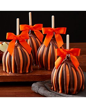 Mrs Prindables - Chocolate Caramel Apples, Set of 4
