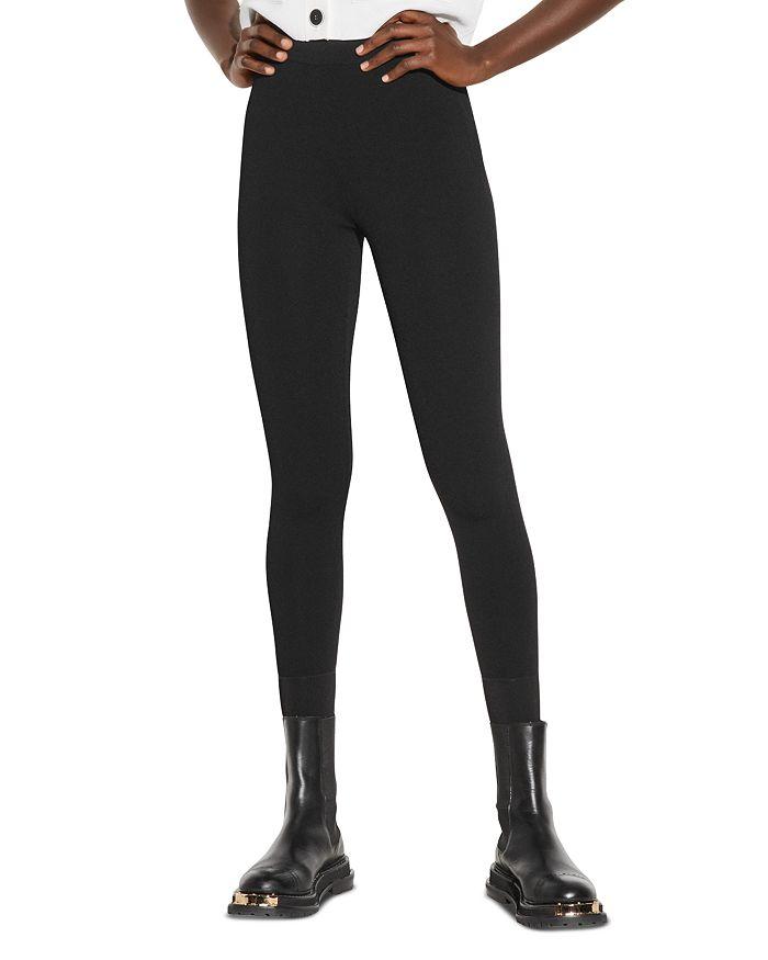 Sandro - Yannick High Waisted Leggings