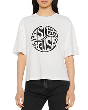 Sandro - Sisty Graphic Tee