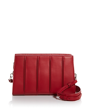 Max Mara Pleated Leather Crossbody-Handbags
