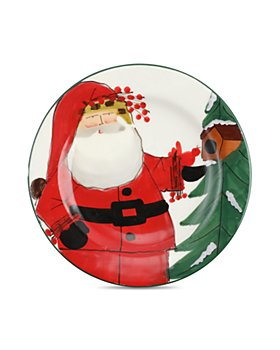 VIETRI - Old St. Nick 2020 Limited Edition Salad Plate