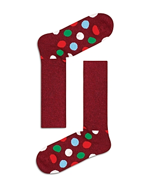 Happy Socks Big Dot Cozy Crew Socks