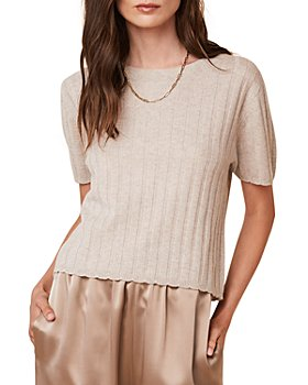 SABLYN - Ethan Ribbed Cashmere Top