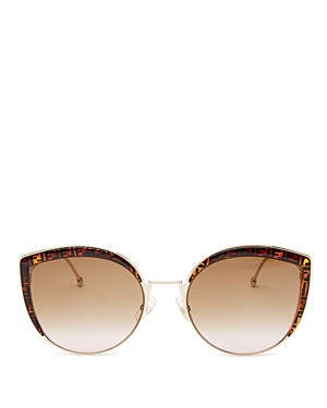 Fendi Women\\\'s Oversized Rimless Cat Eye Sunglasses, 61mm-Jewelry & Accessories