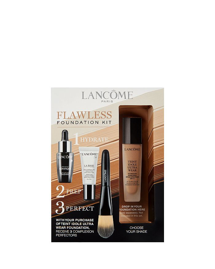 Lancôme - 3 Pc. Complexion Perfection Set for an additional $10 with any Lancôme Teint Idole Ultra Wear Makeup Foundation purchase!