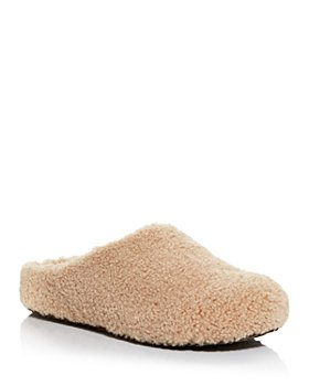 AQUA - Women's Chami Faux Shearling Slippers