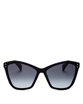 rag & bone - Women's Cat Eye Sunglasses, 57mm