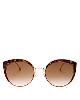 Le Specs Luxe - Women's Nekton Round Sunglasses, 62mm