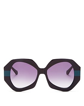 Karen Walker - Women's Phoenix Oversized Sunglasses, 54MM