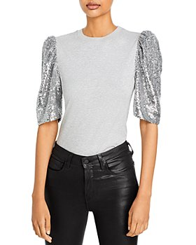 Cinq à Sept - Jordan Sequin Sleeve Top