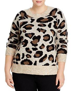 AQUA Curve - Leopard Sweater - 100% Exclusive