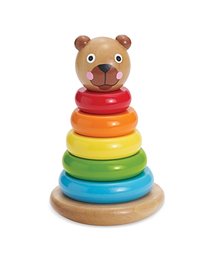 Manhattan Toy Brilliant Bear Magnetic Stack Up Wooden Activity Toy - Ages 9m+