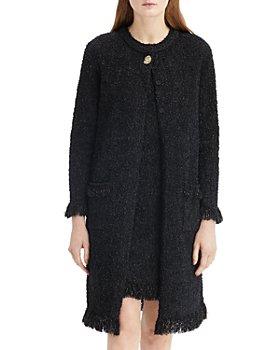 Oscar de la Renta - Long Tweed Jacket