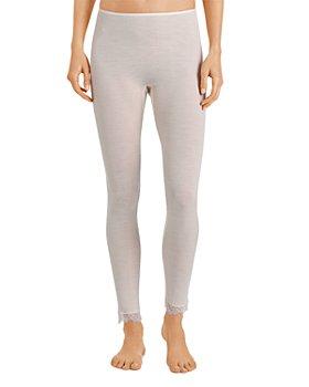 Hanro - Lace Trim Ribbed Pants