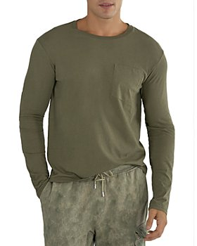 ATM Anthony Thomas Melillo - Cotton Long Sleeve Pocket Tee
