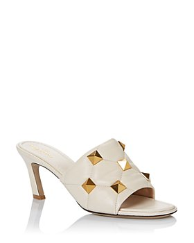 Valentino Garavani - Women's Roman Studs High Heel Slide Sandals