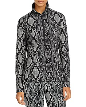 GOLDBERGH - Linda Snake Print Layer Top