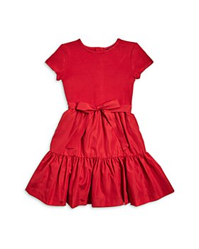 Ralph Lauren - Girls' Ruffle Skirt Dress - Little Kid, Big Kid