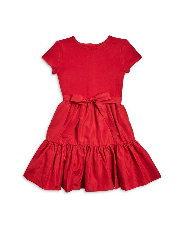 Ralph Lauren - Girls' Ruffle Skirt Dress - Little Kid, Big Kid