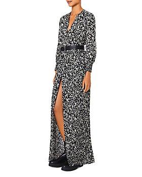 ba&sh - Lisi Printed Pleated Dress