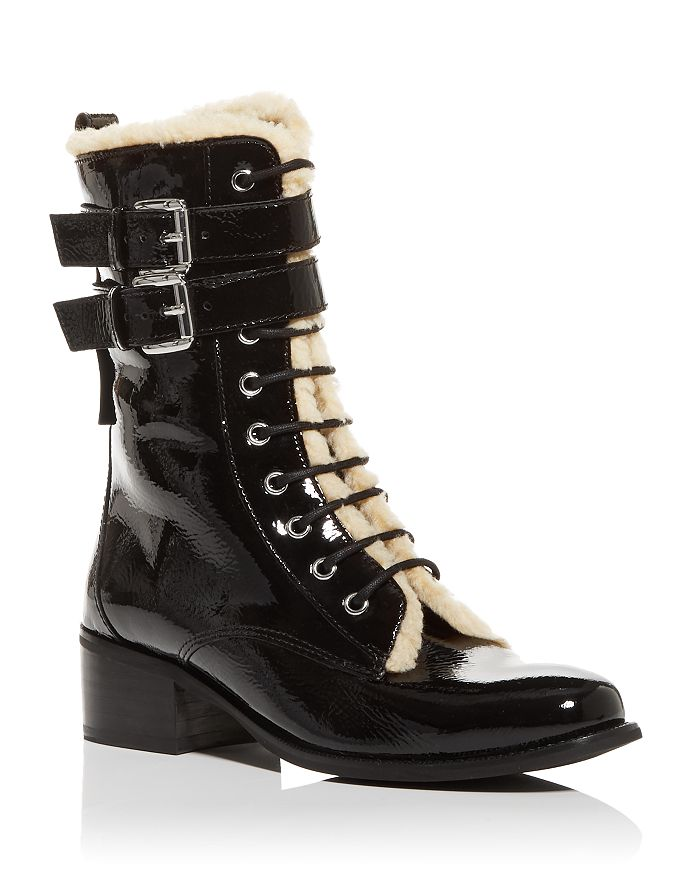 KURT GEIGER LONDON - Women's Serena Block Heel Boots