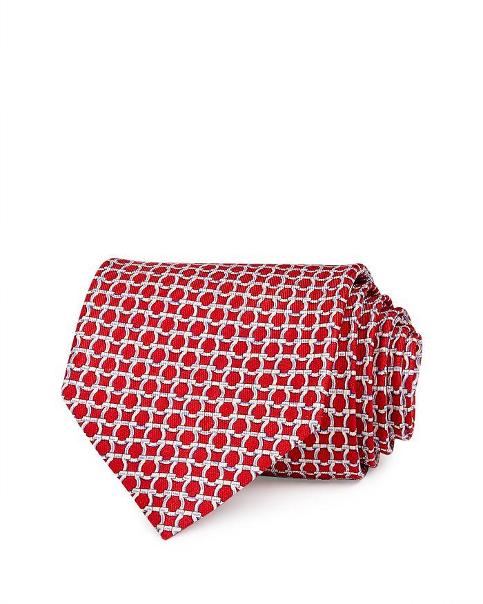 Salvatore Ferragamo - Gancini Silk Classic Necktie