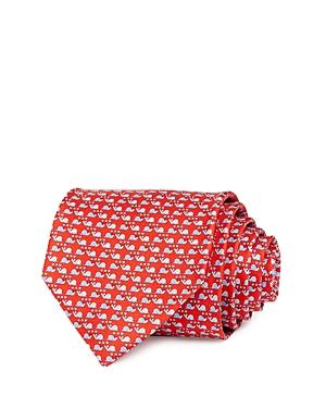Salvatore Ferragamo Snail Love Silk Classic Necktie-Men