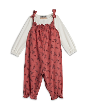 Pippa & Julie Girls' Floral Coverall - Baby
