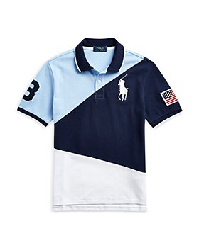 Ralph Lauren - Boys Big Pony Cotton Mesh Polo - Little Kid, Big Kid