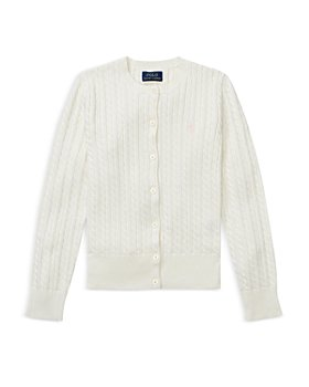 Ralph Lauren - Girls' Cable-Knit Cardigan - Little Kid, Big Kid