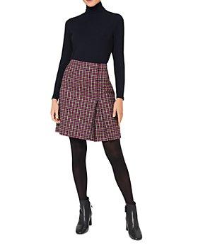 HOBBS LONDON - Avery Kick Pleat Skirt
