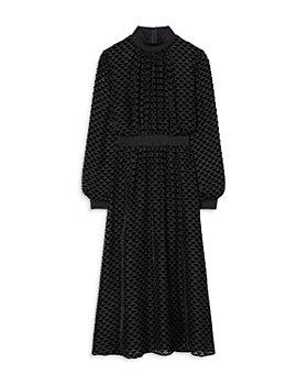 Tory Burch - Velvet Devoré Midi Dress